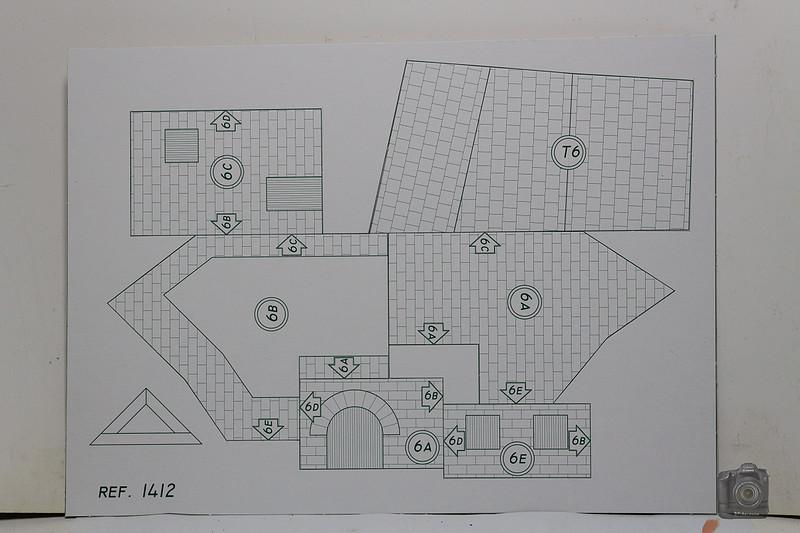 AEDES ARS - Casas RURALES (Kit 1412) 1/87 Convert