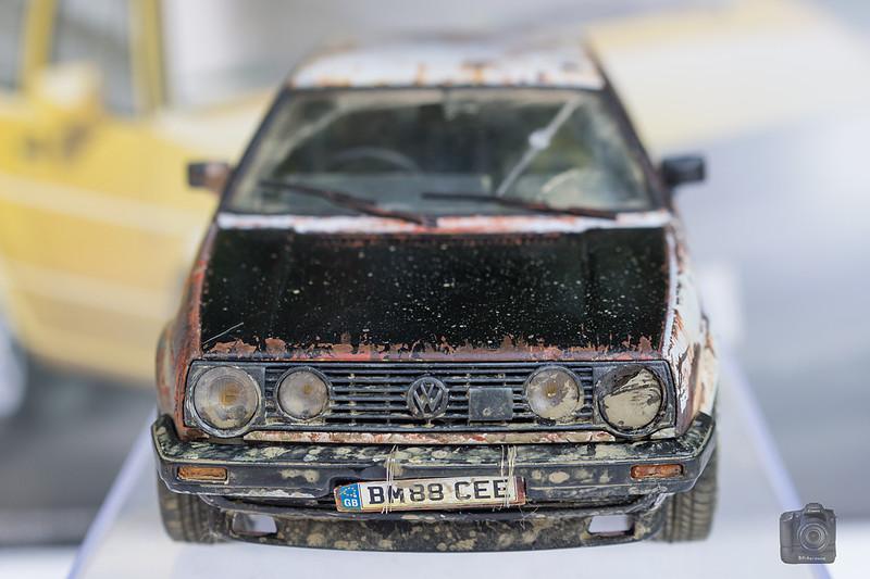 FUJIMI Golf II en fin de vie Convert